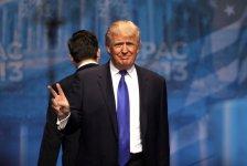 Piotrkowianie przywitaj± Trumpa