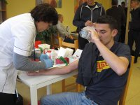W szkole na Piomie oddawali krew
