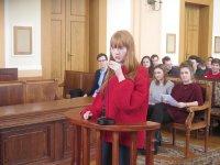 Uczniowie stali siê prawnikami podczas...symulacji rozprawy