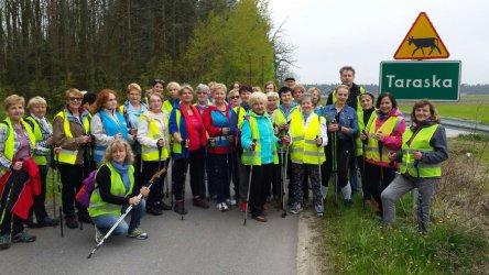 Wiosenny Rajd Nordic Walking z OSiR-em