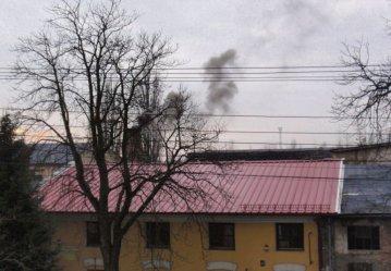 Czarne chmury nad ulicą Próchnika
