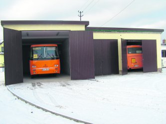 Garaże oddane do użytku
