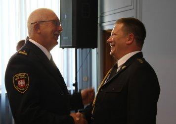 Strażacy powitali nowego komendanta