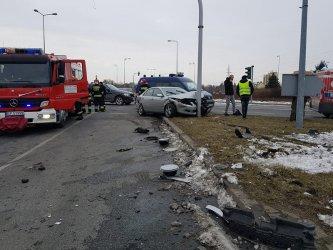 Kolejne niebezpieczne zdarzenie drogowe w tym samym miejscu