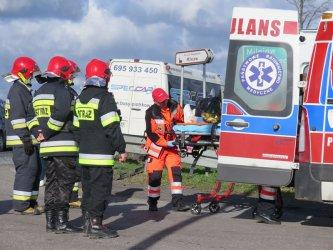 Szesnaście osób rannych w wypadku na DK 91!
