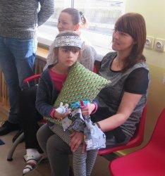 Prezenty dla maluchów z bełchatowskiego szpitala