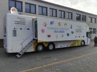 Eurobus zaparkowa³ w Wolborzu