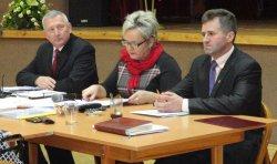 Inauguracyjna sesja VII kadencji Rady Gminy Moszczenica