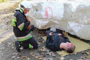 Walczyli z żywiołem, ratowali rannych. Spokojnie, to tylko ćwiczenia