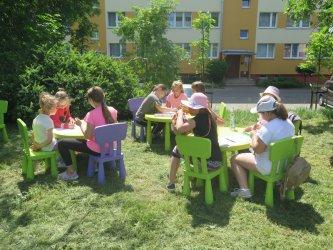 Biblioteka zorganizowała majówkę dla najmłodszych