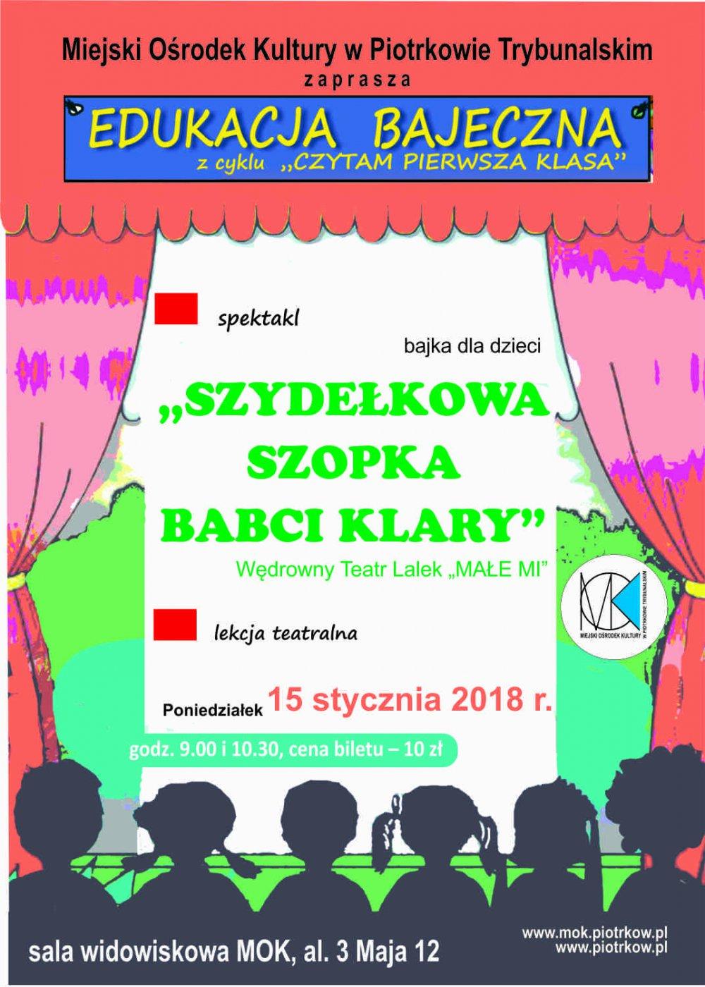 Edukacja bajeczna - spektakl dla dzieci pt.: