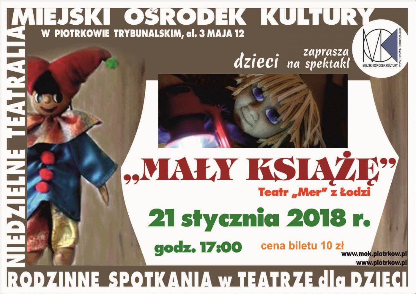 Spektakl dla dzieci pt.: