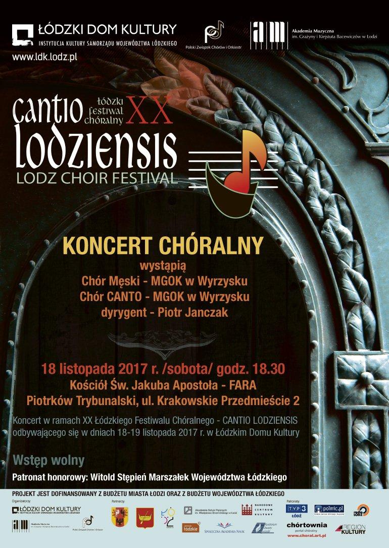 Koncert Chóralny w piotrkowskiej Farze