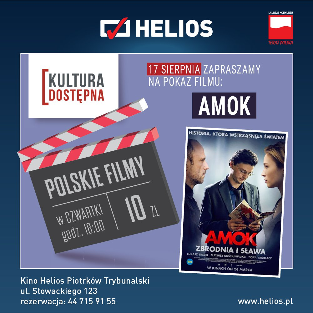 Amok - Kultura Dostêpna w kinie Helios