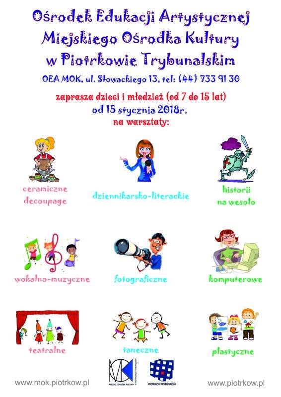 Warsztaty dla dzieci w OEA MOK