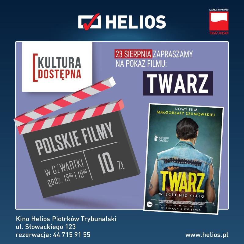 Twarz - Kultura Dostępna w kinie Helios