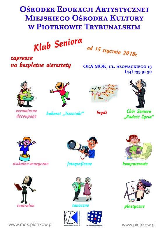 Rozpoczêcie warsztatów dla seniorów w OEA MOK