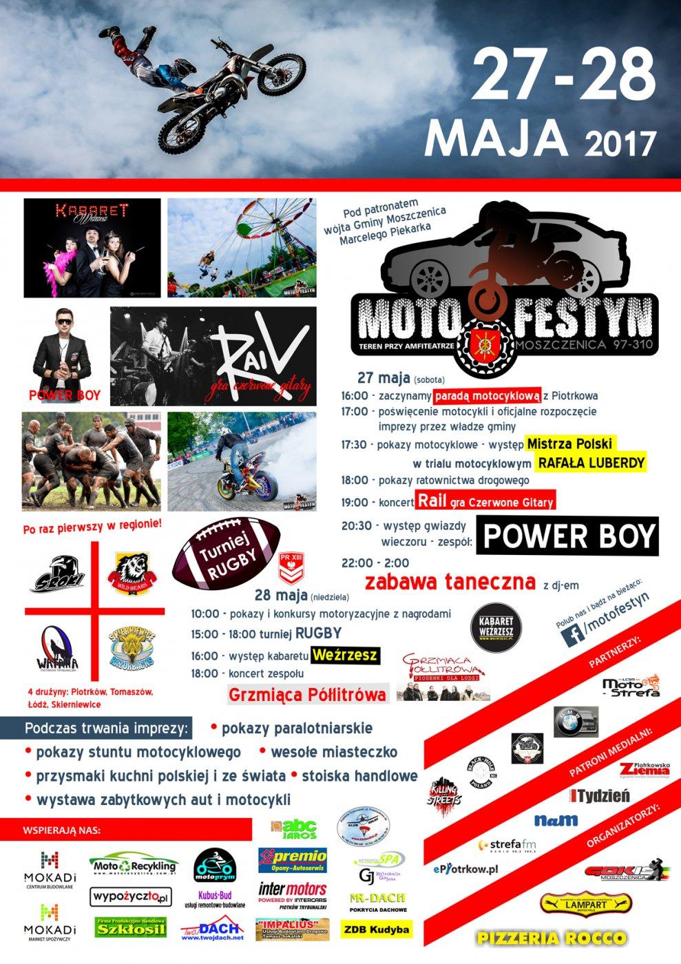 Motofestyn Moszczenica 2017