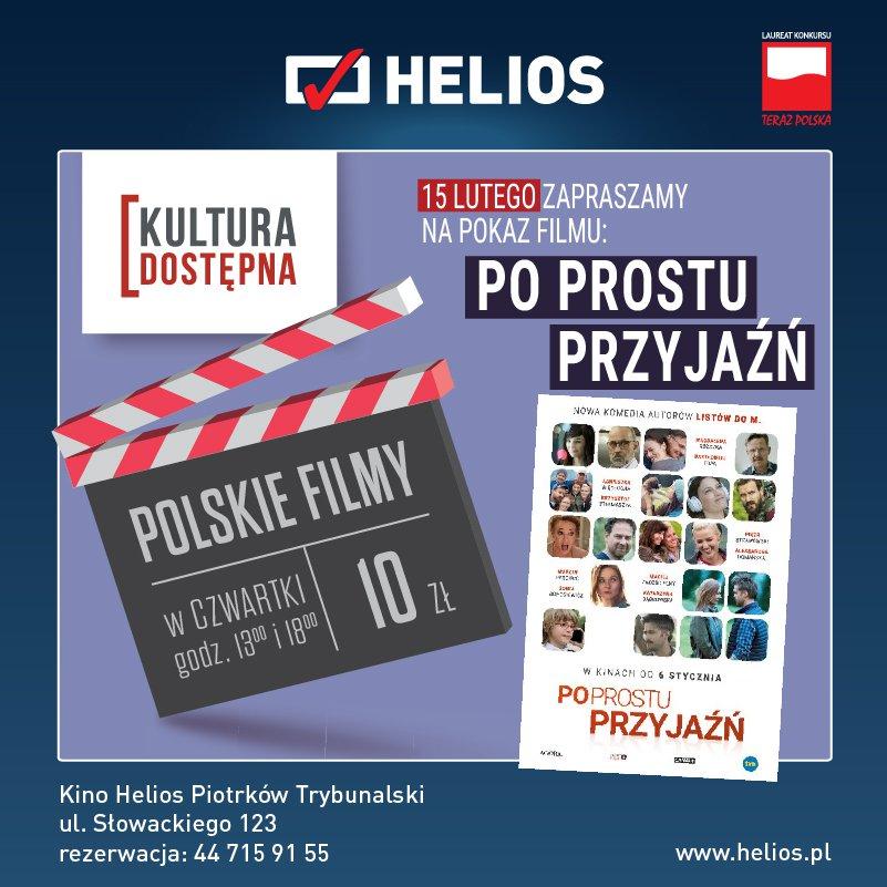 Po prostu przyjaźń - Kultura Dostępna w kinie Helios
