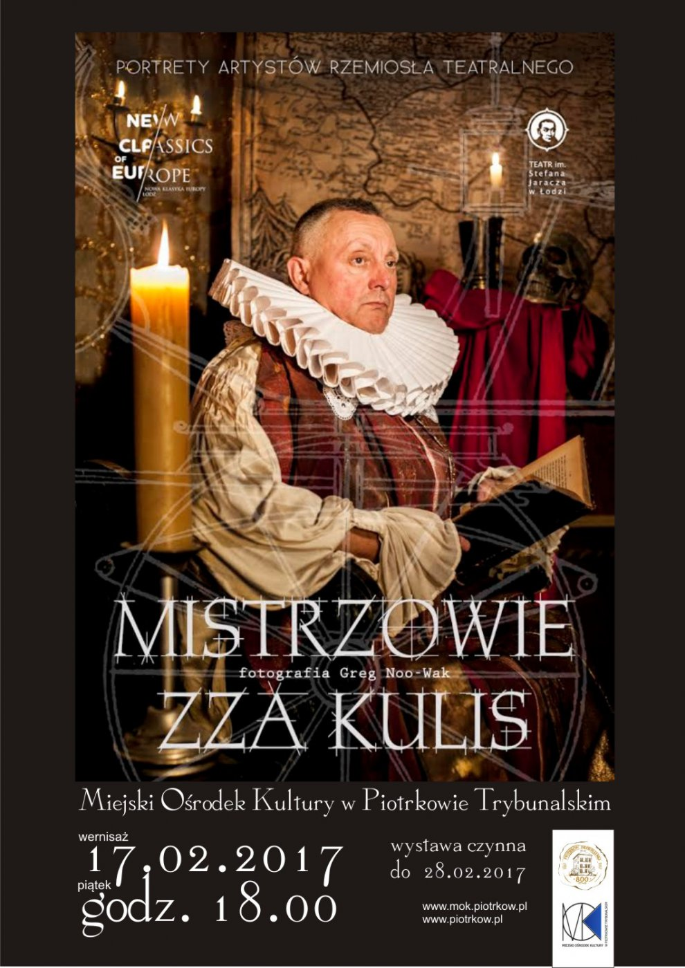 Wernisaż wystawy MISTRZOWIE ZZA KULIS. Portret artystów rzemiosła teatralnego