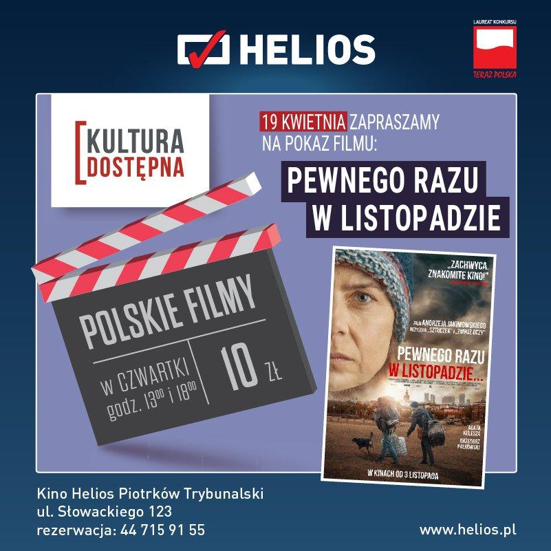 Pewnego razu w listopadzie… - Kultura Dostępna w kinie Helios