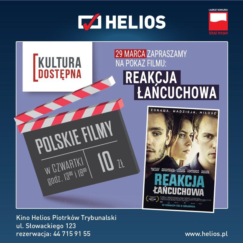 Reakcja łańcuchowa - Kultura Dostępna w kinie Helios