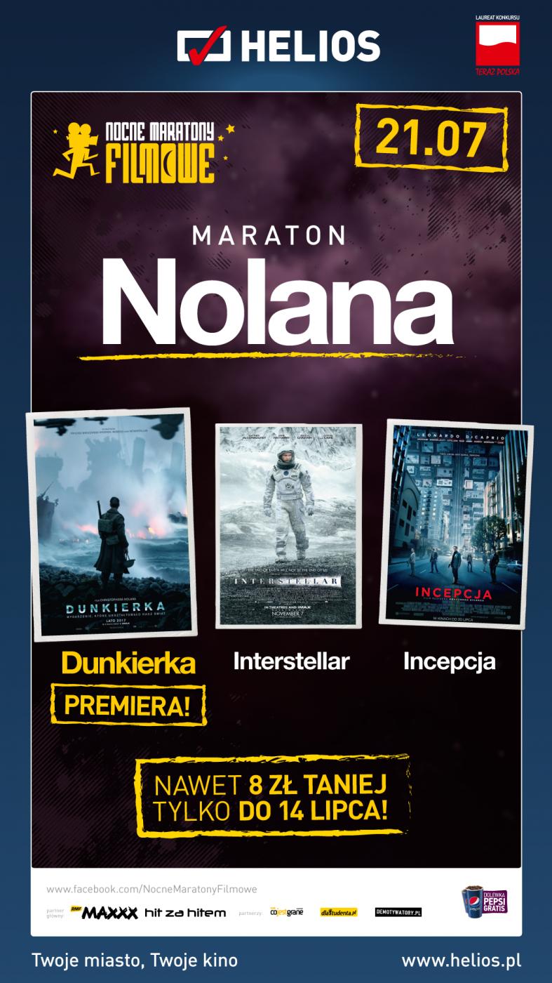 MARATON filmów Christophera NOLANA