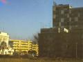 Na zdjêciu widoczny fragment neonu WSS Spo³em na wysoko¶ciowców przy ulicy Sienkiewicza 21. Foto: Jerzy Gnyp.