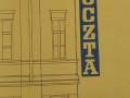 Wizualizacja projektu neonu dla poczty w Piotrkowie wykonana przez Izabelê ¦migielsk±. Foto: AP w Piotrkowie Tryb.