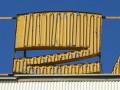 Jedna z liter dachowego neonu DH