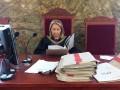 SSR Agnieszka Zieliñska: Baner nie mo¿e byæ wydany, poniewa¿ jest dowodem w sprawie. foto: J.K.