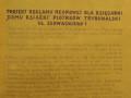 Charakterystyczna sówka - warszawski projekt neonu dla Ksiêgarni Odrodzenie w Piotrkowie przy ulicy S³owackiego 1. Sówka roz¶wietla³a wej¶cie do ksiêgarni. Foto: AP w Piotrkowie Tryb.