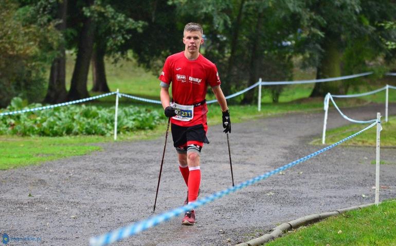 Jakub Deląg obronił tytuł mistrza Polski w Nordic Walking