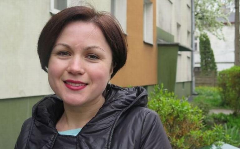 Na Ukrainie by³a weterynarzem. W Polsce pracuje w magazynie
