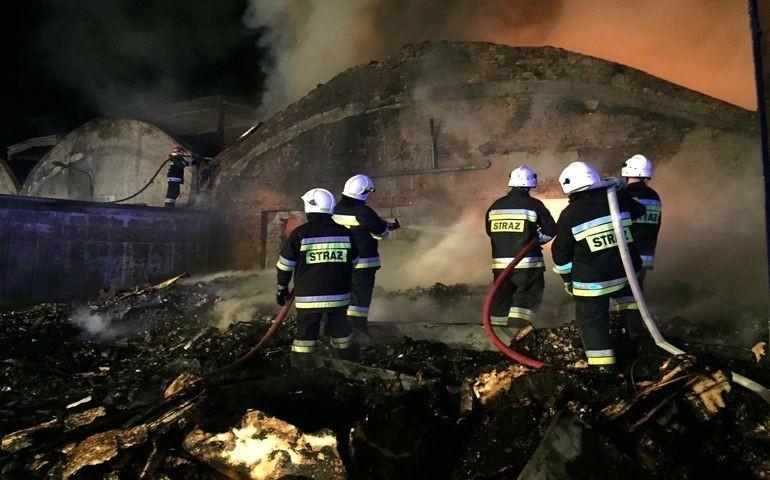 Zatrzymali sprawców podpalenia sortowni przy Topolowej?