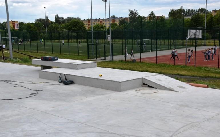 Skate Park w Piotrkowie prawie gotowy