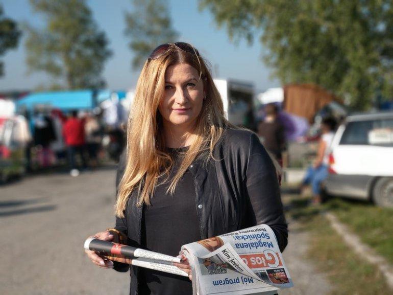 """Centrum rekreacji zwane potocznie """"Wielorybkiem"""", na Osiedlu Tysiąclecia w Radomsku. To dzięki uporowi Magdaleny Spólnickiej ten projekt zrealizowano."""