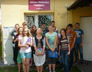 Aż 30 wolontariuszy pracowało w bibliotece