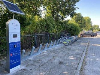 Od wtorku rower miejski wypożyczysz także przy lotnisku