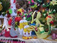 Tradycyjny koszyczek wielkanocny w niedzielę w Czarnocinie