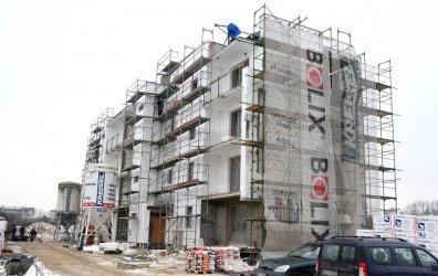 Bloki TBS rosną na osiedlu 800-lecia