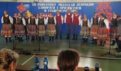 Zespół ludowy Piliczanie podwójnym zwycięzcą III Powiatowego Przeglądu Zespołów Ludowych i Śpiewaczych