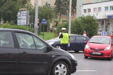 Ostrożnie na skrzyżowaniu al. Piłsudskiego i ul. Sienkiewicza!