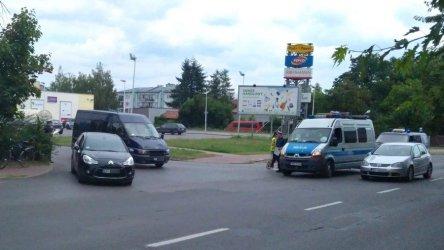 Rowerzysta potrącony na ul. Wojska Polskiego