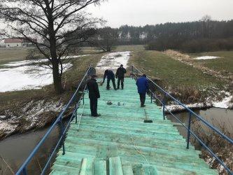 Wolbórz: wzmacniają mosty