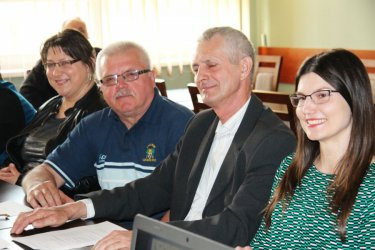 Wola Krzysztoporska: Dyskutowali o bezpieczeństwie w gminie