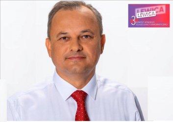 Artur Ostrowski, kandydat Sojuszu Lewicy Demokratycznej na Posła RP w okręgu nr 10