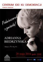 Centrum zaprasza na spotkanie z Adrianną Biedrzyńską