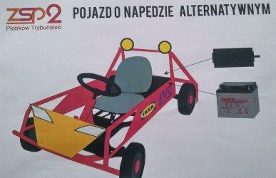 Uczniowie z Piotrkowa konstruują samochód elektryczny