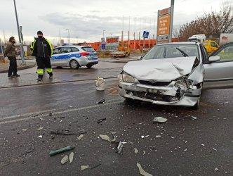 Wypadek na Sulejowskiej w wigilijne przedpołudnie